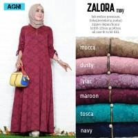 Baju Terusan Wanita Muslim Longdress Zalora Maxy