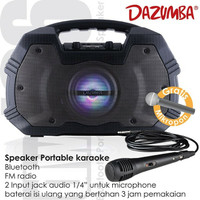 Harga speaker portable karoake dazumba dw | antitipu.com