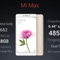 HP XIAOMI MI MAX (XIOMI MI MAX RAM 4/128 GB) - 128GB INTERNAL - SILVER