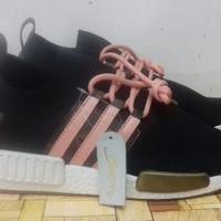 87f6b9793 Sepatu Adidas NMD R1 Louis Vuitton Black - Premium Quality
