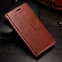 Xiaomi Redmi 5A leather case casing hp kulit premium FLIP COVER WALLET