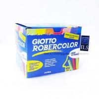GIOTTO Robercolor BLACKBOARD CHALK - 100 PCS Kapur Warna
