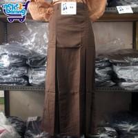 Rok Panjang Span SMP Coklat (Kopi) - Seragam SMP - Seragam Pramuka