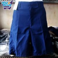 Celana Pendek SMP Biru - Seragam SMP - Sontog SMP - Seragam Sekolah
