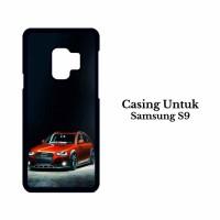 Casing Samsung S9 Slammed Audi A4 Allroad Custom Hard Case Cover