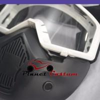 Goggle Masker Modular Motor Trail Motocross KLX KTM Supermoto Dtrack