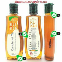 Minyak Kemiri KUKUi with Candlenut Oil 100ml (NEW LABEL)