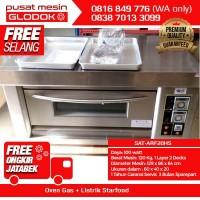 Mesin Oven gas Roti Starfood Stainless steel SAT-ARF20HS MURAH