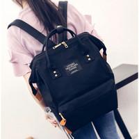 Tas Ransel Canvas Vintage Backpack tas sekolah tas kuliah tas gemblok