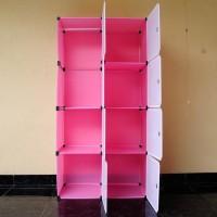 Dijual 41-5 Rak 8 Susun Hello Kitty ( Pakaian Sandal Sepatu Mainan