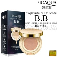BIOAQUA Exquisite and Delicate + Refill/BB Cushion Original A430