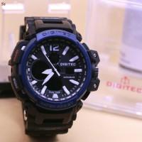 JAM TANGAN PRIA DIGITEC GPW 1200 ORI ANTI AIR BLACK BLUE
