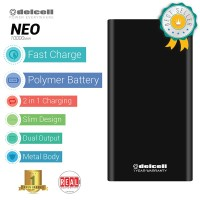 Jual EXCLUSIVE Power Bank Delcell NEO at Tokopedia Real Capacity 10000mAh Murah