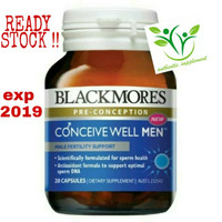 Jual Blackmores Conceive Well Men (Pre-conception) Murah