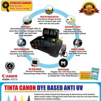 Paket Printer Modifikasi Damper Canon IP2770 Plus Dye Based Premium