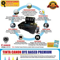 Paket Printer Modifikasi Canon IP2770 Plus Tinta Dye Based Anti UV