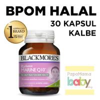 Jual Blackmores Radiance Marine Q10 -30 Kapsul BPOM HALAL KALBE Vitamin Murah