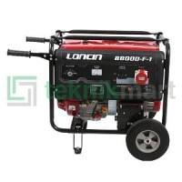 GENSET / GENERATOR SET BENSIN LONCIN LC 8800 DF-1 3PHAS Premium