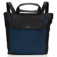 TAS TUMI Men Alex Convertible Backpack Tote Blue Black ORIGINAL