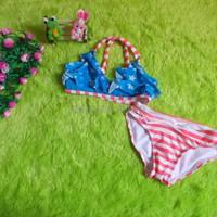 OBRAL bikini baju renang anak branded CIRCO stars stripe ukM 5 6tahun