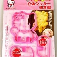 cetakan hello kitty hk press mold cutter cookie biskuit kue kering diy