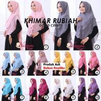 Jual Jilbab Instan KHIMAR RUBIAH Original by Nizam - Hijab Kerudung Cantik Murah