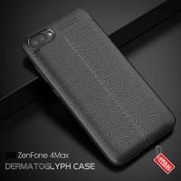Softcase TPU Leather Black Carbon Cover Case Casing HP Xiaomi Mi A1
