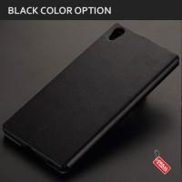Flip Case PU Leather Ultra Slim Cover Case Casing HP Sony Xperia M5