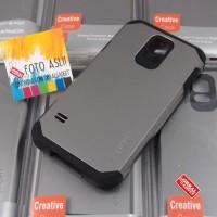 Hardcase Spigen Armor Hybrid Cover Case Casing HP Samsung Galaxy S5