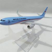Pesawat diecast/ miniatur besi Presiden RI (Air Force One)