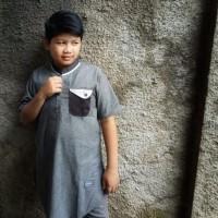 New Baju Atasan Kemeja Gamis Koko Anak Remaja ABG Laki laki Pria ZHAF