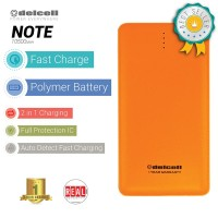 DelCell Note Power Bank Polimer Battre 10500mAh - Orange