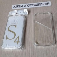 Terbaru Anti Crack Fuze Samsung S4 I9500 S4 Big 5.0 Inchi Acrylic Case