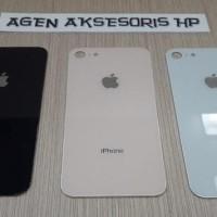 Terbaru Back Cover Iphone 8 8G 4.7 Inchi Backdoor Hp Housing Tutup
