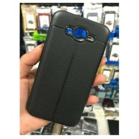 Terbaru Case Leather Samsung J3 / J300 Soft Auto Focus Kulit Cover