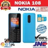 Hp jadul Nokia 108 - original - dual sim