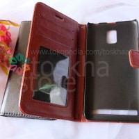 Wallet Case Lenovo A6600 Flip Leather Case