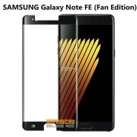 Tempered Glass Full Cover Warna Samsung Galaxy Note FE Fan Edition