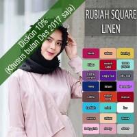 hijab cantik instagram Rubiah Square Segiempat Rubiah Linen
