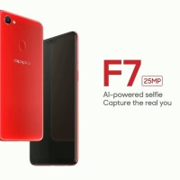 Promo Oppo F7 4/64 - Red and Black Garansi Resmi FREE Hp Nokia 105