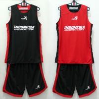 Training Jersey Indonesia Basketball Team (bolak-balik/2 sisi baju)