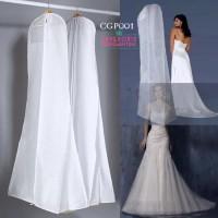 Harga cover pelindung gaun pengantin l penyimpanan baju dress pesta cgp | antitipu.com