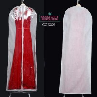 Harga cover pelindung baju pengantin l penyimpanan dress gaun pesta cgp | antitipu.com