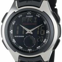 Casio Jam Tangan AQ160W-1 Analog Digital Untuk Pria Formal Casual ori