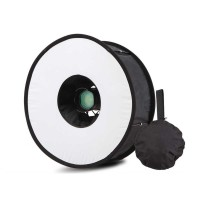 Universal Ring Softbox Flash Diffuser for Camera DSLR