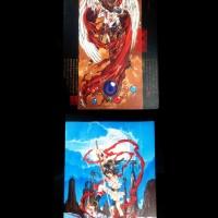 Buku Tulis Impor Anime Clamp RG Veda dan X Battle of 1999