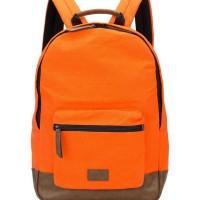 TAS FOSSIL Men MBG9218800 Estate Canvas Backpack Orange ORIGINAL