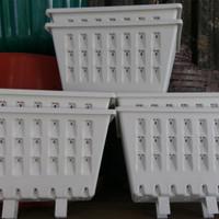 POT DINDING / HYDROPONIK / TANAMAN RAMBAT / TEMBOK PLASTIK PUTIH