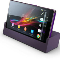 CHARGING DOCK FOR SONY XPERIA Z - Cas Duduk Hp Docking Dudukan Charger