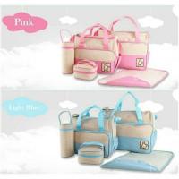 5in1 tas perlengkapan bayi / travel bag baby set 5 lengkap